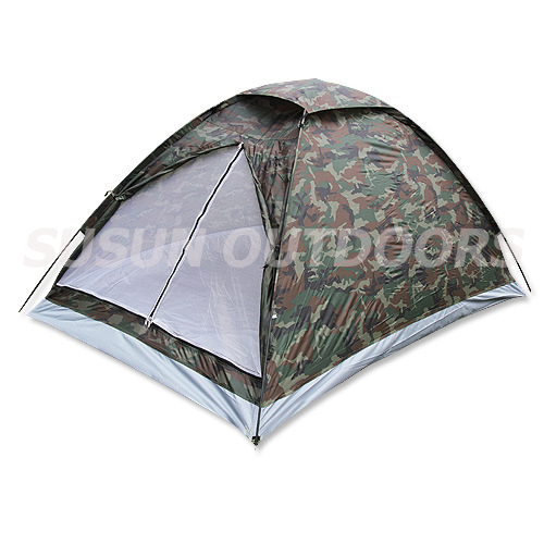 camouflage dome tent
