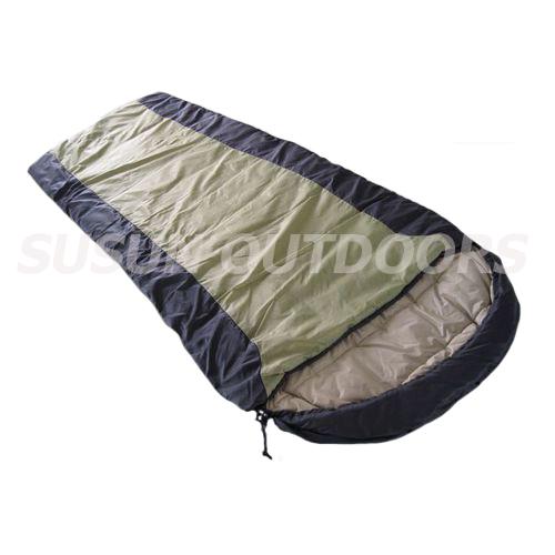 envelope sleeping bag with hoop