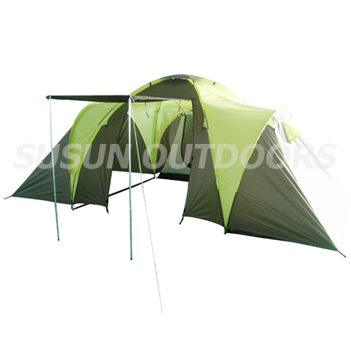 2 rooms family tent