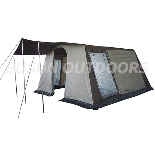 polyester large family tent