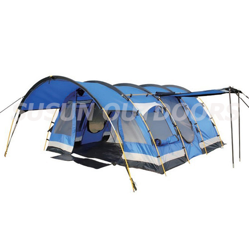 family camping tunnel tent