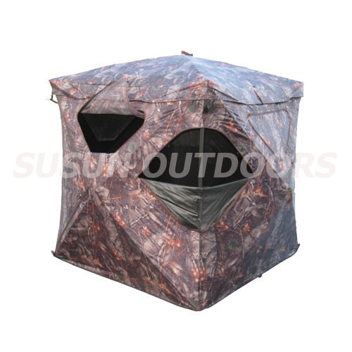 real tree blind tent