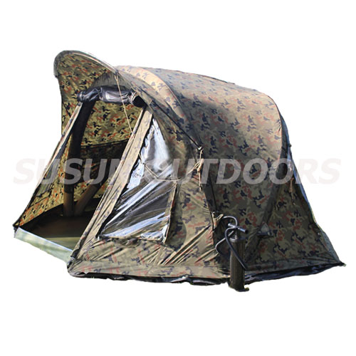 camouflage outdoor fishing inflatable tent