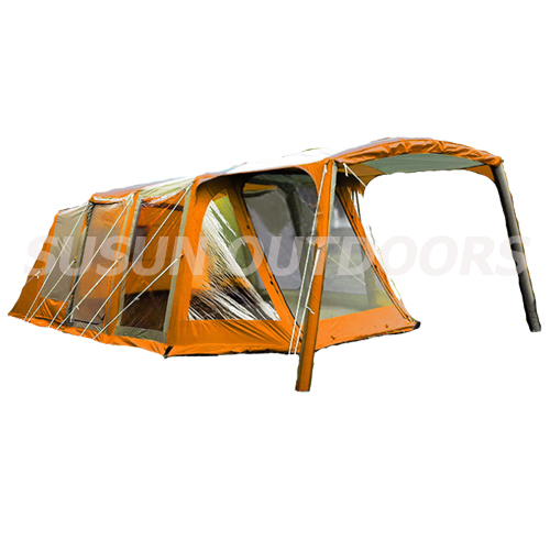 new design inflatable camping tent