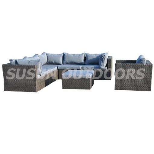 modern design rattan sofa