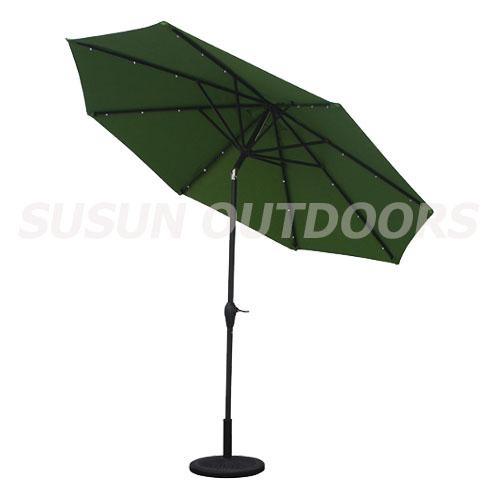 LED light garden umbrella