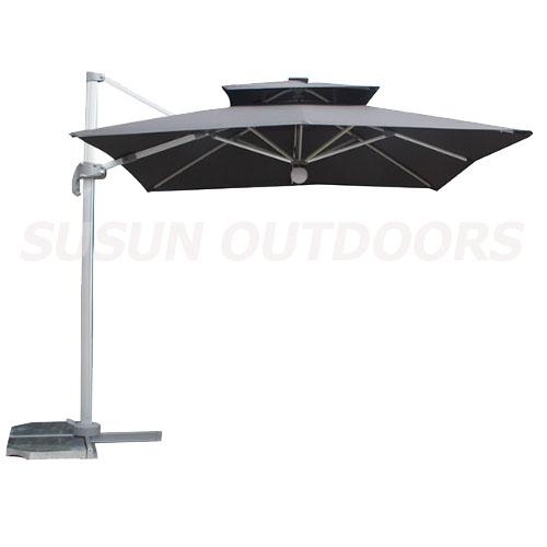 2 roofs outdoor patio umbrella