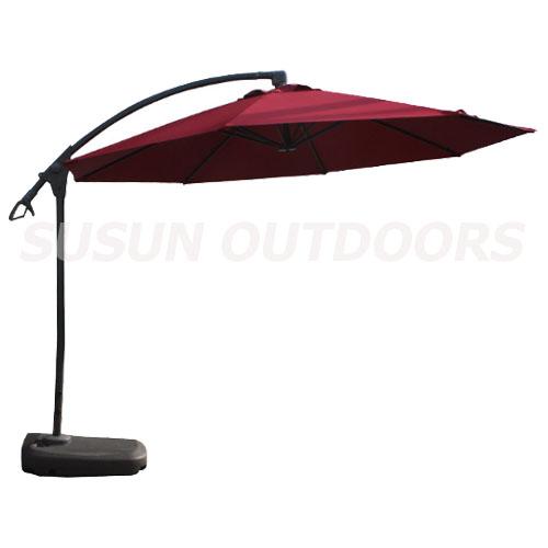outdoor hanging garden umbrella