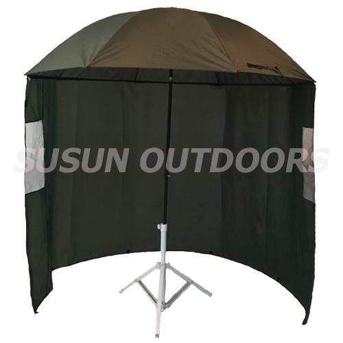 multi angles fibreglass fishing umbrella