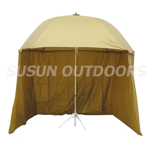 hot sale fishing umbrella with side wall